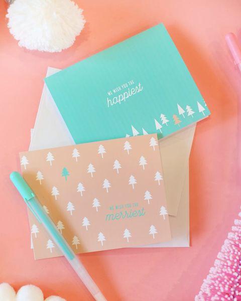 happiest merriest diy christmas cards