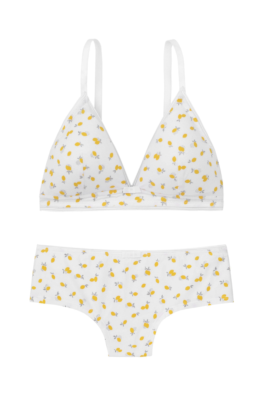Conjunto de estampado de limones de Etam