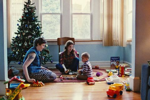 Christmas tree, Christmas decoration, Room, Christmas, Christmas eve, Child, Play, Tree, Floor, Flooring,