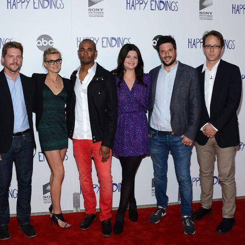 Happy Ending cast