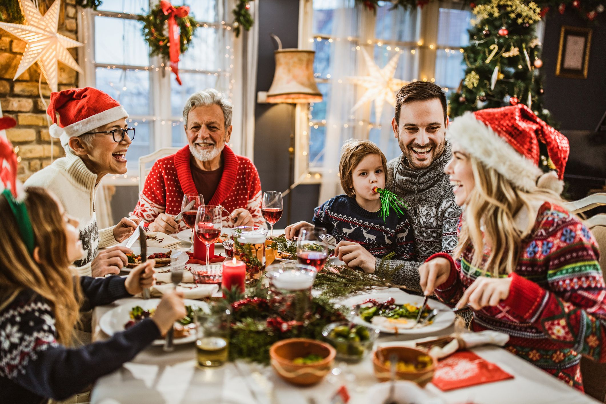 How To Feed A Crowd At Christmas Festive Food Calculator