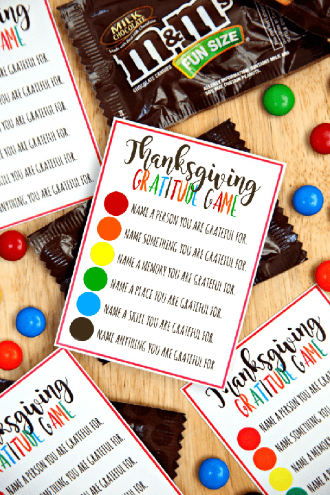 gratitude game diy thanksgiving family games