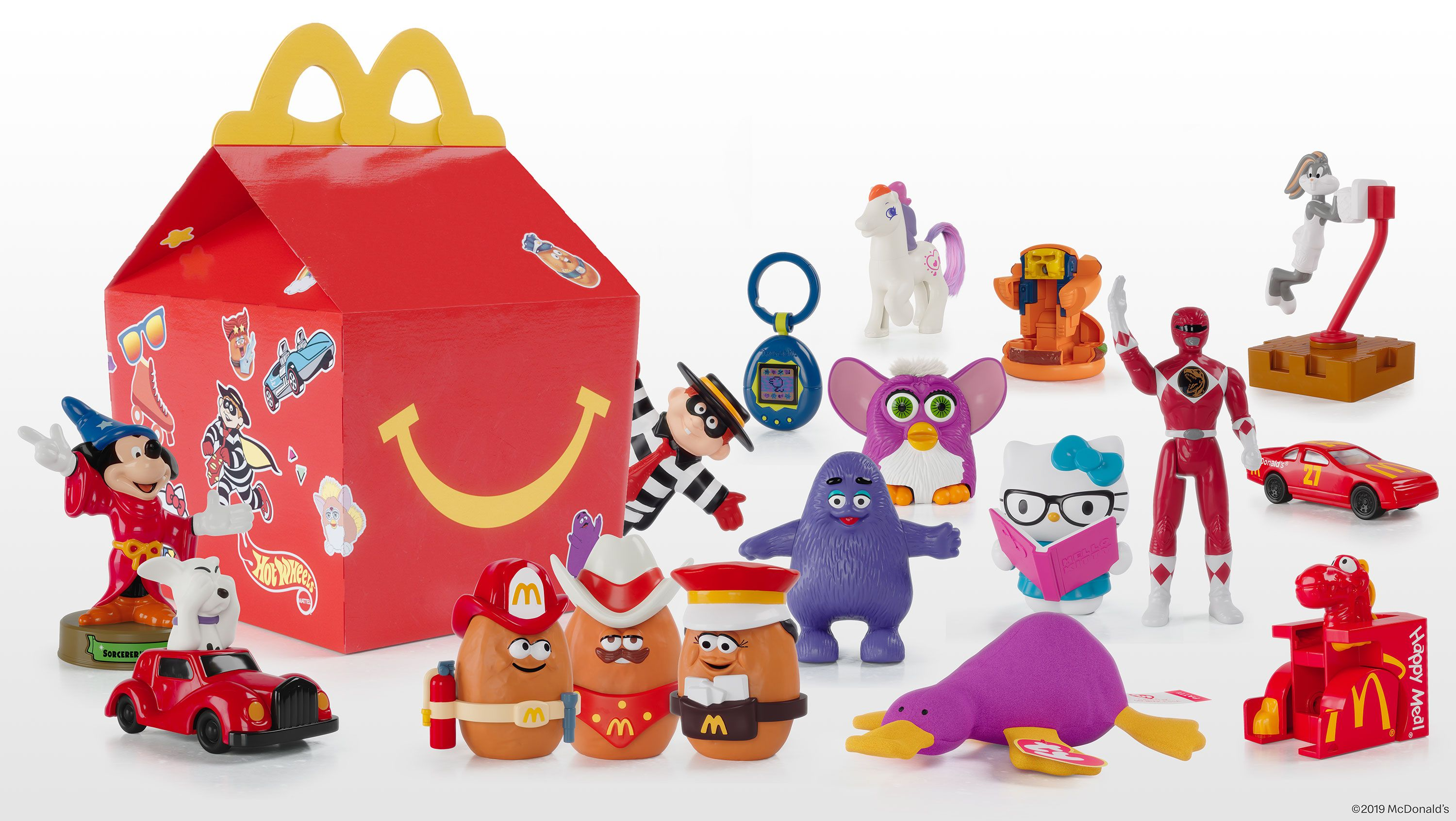 McDonald's Happy Meals Have Throwback Toys to Celebrate 40 Years