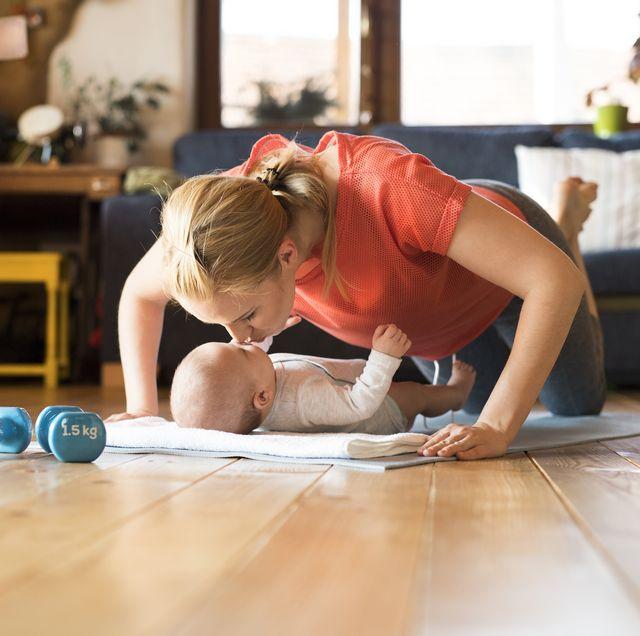 ejercicios para hacer en el postparto