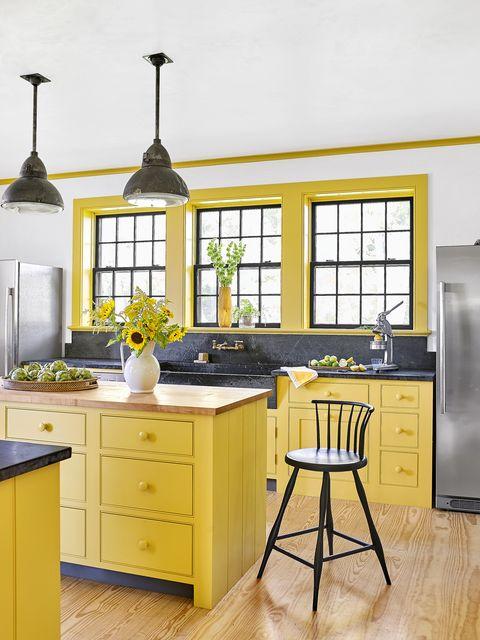 happiest colors dark yellow