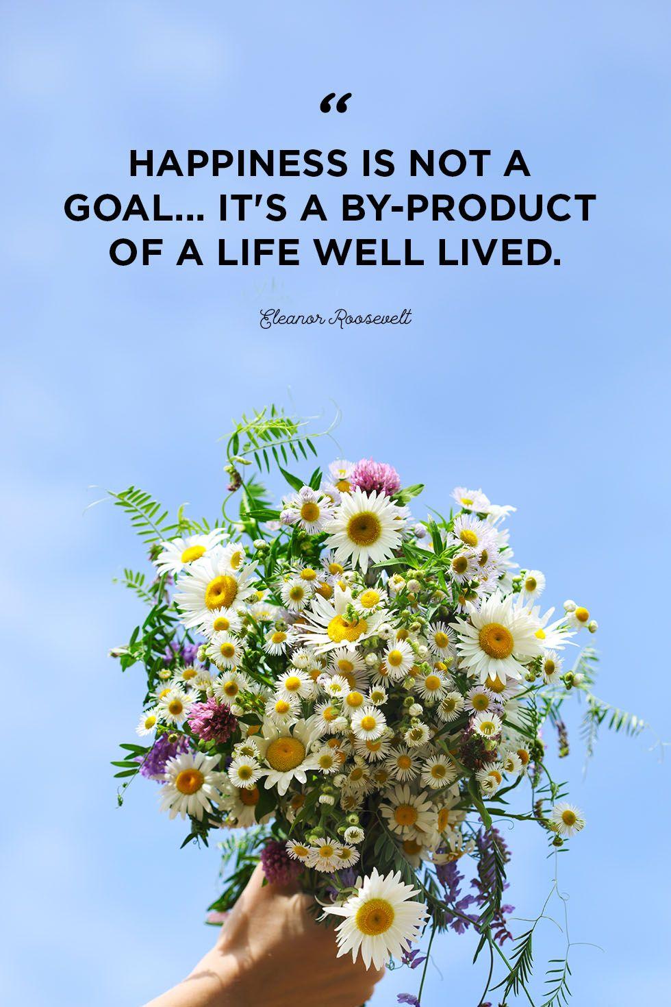 happy life quote eleanor roosevelt