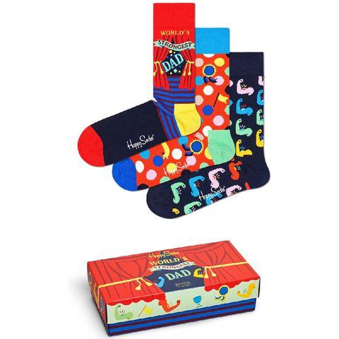 happy socks vaderdag 3p giftbox vader heren sokken