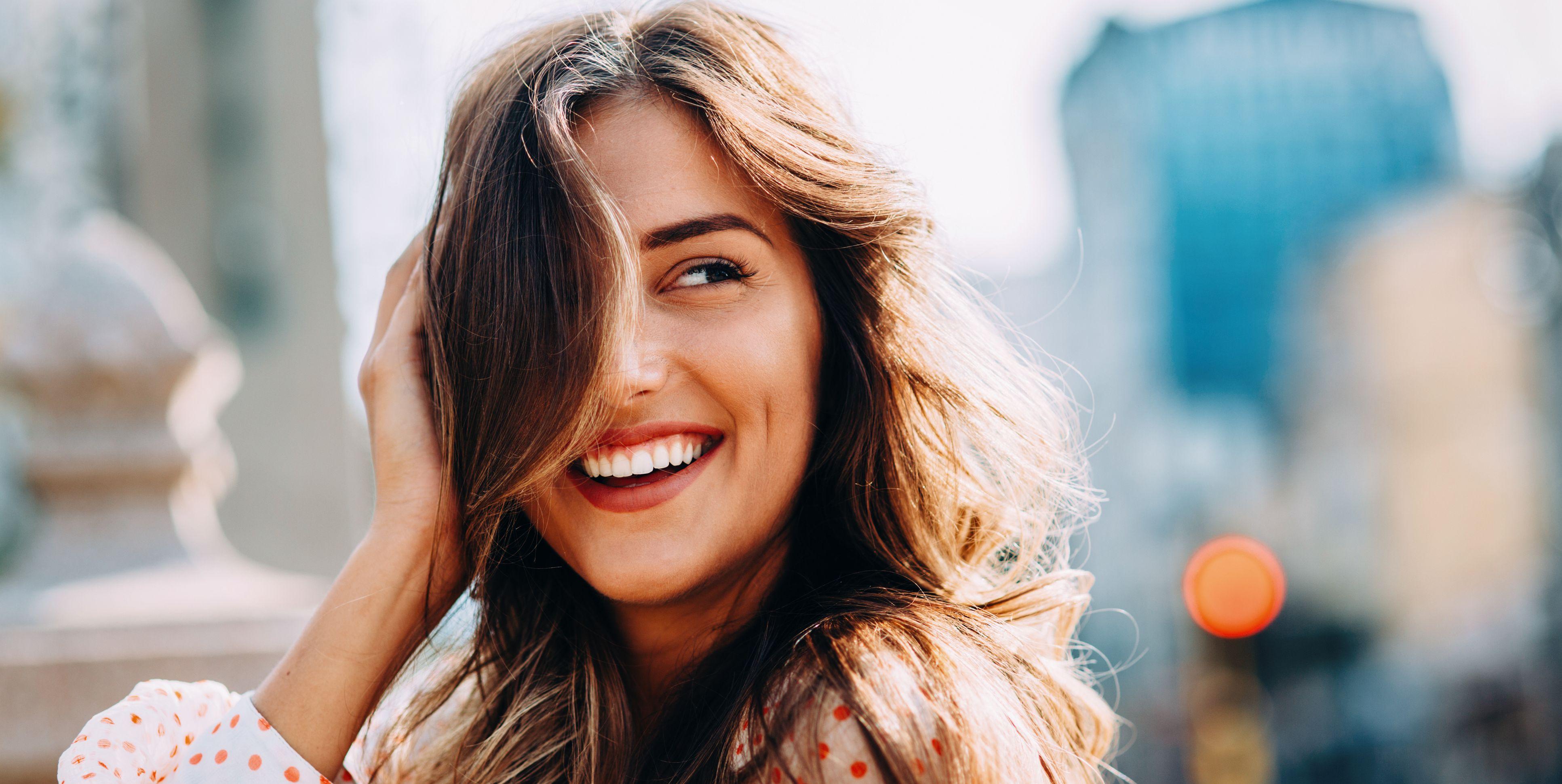 Happy woman