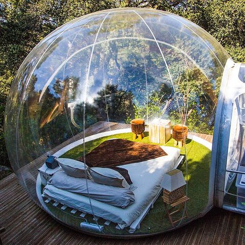 Dome, Dome, Biome, Tent, Inflatable, Sphere, Games, World, Earth, Shade,