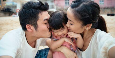 People, Child, Interaction, Hug, Happy, Love, Smile,