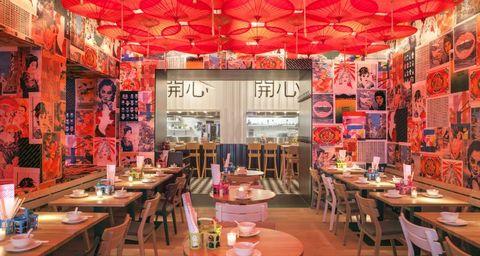 Waarom restaurants vaak een rood interieur hebben