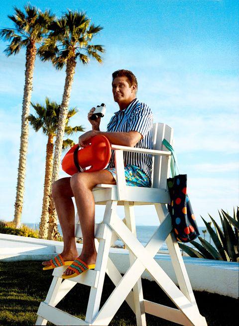 David Hasselhoff bañador Happy Socks