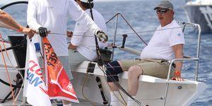 Felipe VI, Harald Noruega, regatas Mallorca, Harald de Noruega se enfrenta a Felipe VI en alta mar, Harald de Noruega, el contrincante más 'real' de Felipe VI en las regatas, Harald de Noruega compite contra Felipe VI en alta mar, Harald y Felipe, dos Reyes cara a cara en el mar