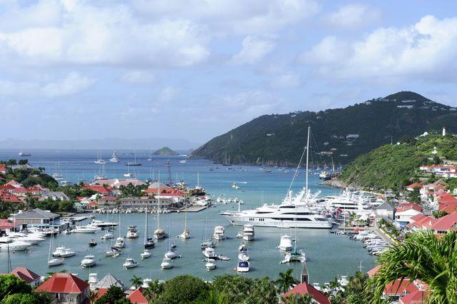 harbor view, st bart's island