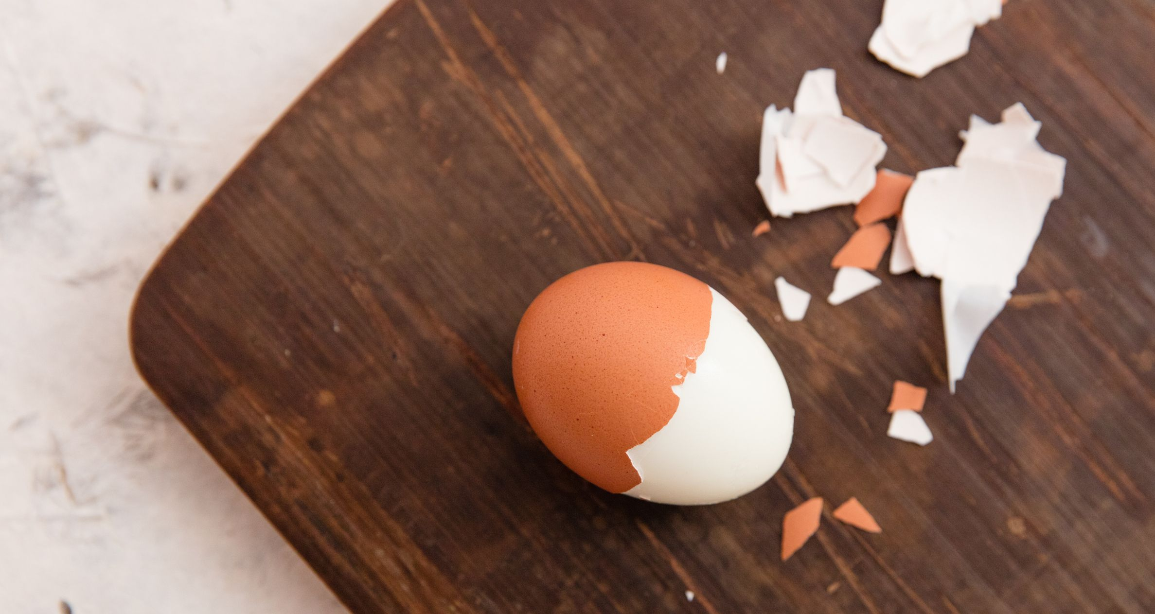 Can you peel hard boiled eggs the day before