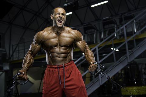Hardcore Body Building Workout