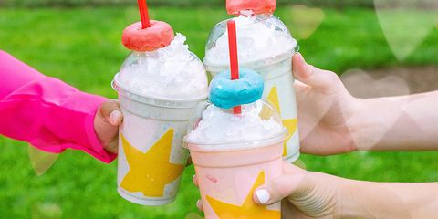 Hardee's Is Serving Up a Milkshake Topped With a Froot Loops Mini Donut