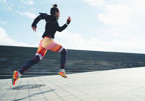 Hardlopen en snelheid met steigerungen word je sneller