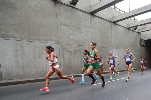 marathon hardlopen vrouwen