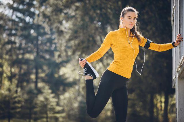 hardlopen door het park maakt gelukkiger