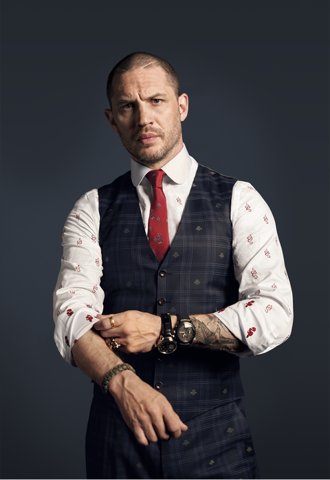 At Home Base With Tom Hardy