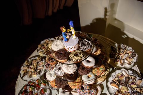 You must see this homer simpson donut wedding cake creative image junglespirit Image collections