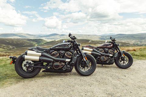 harley davidson sportster s motorcycles