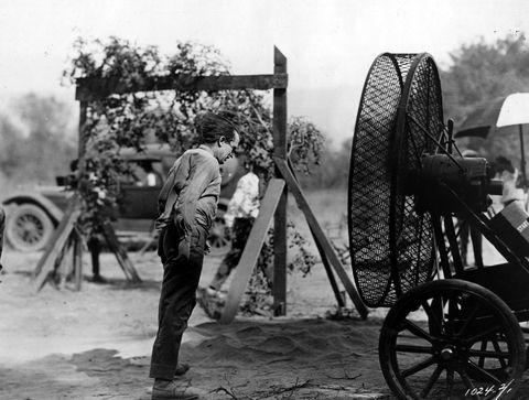 Harold Lloyd,扇風機