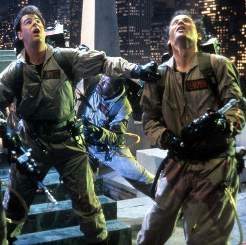 Dan Aykroyd And Bill Murray In 'Ghostbusters'