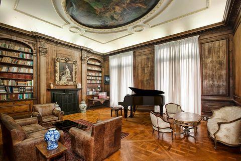 Room, Interior design, Building, Furniture, Property, Ceiling, Living room, House, Home, Floor,