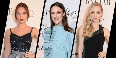 Harper's Bazaar women of the year awards 2018 - best beauty looks