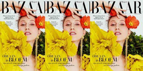 Yellow, Magazine, Album cover, Font, Plant, Movie, Publication, Flower,