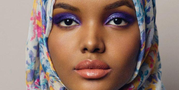 Halima Aden by Carine Roitfeld and Sebastian Faena