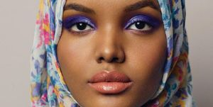 Halima Aden by Carine Roitfeld and Sebastian Faena