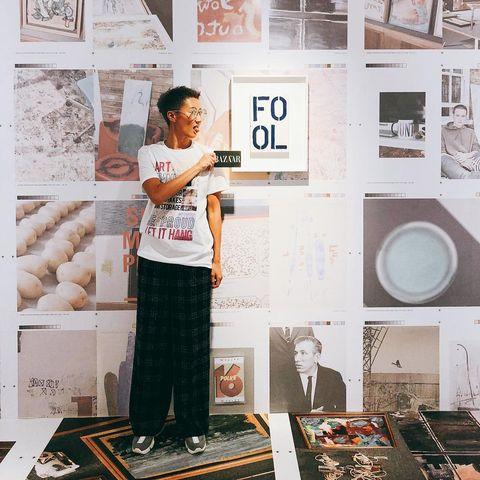 Wall, Fashion, Design, Room, Interior design, Visual arts, Eyewear, Illustration, Art, T-shirt,