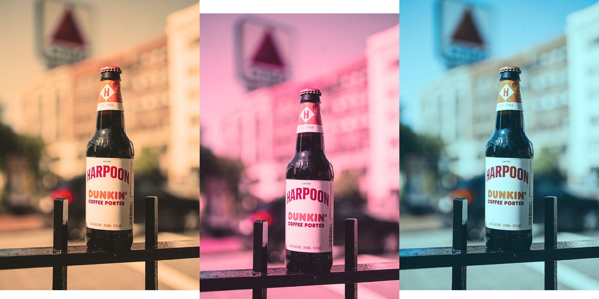 Harpoon's Dunkin Coffee Porter