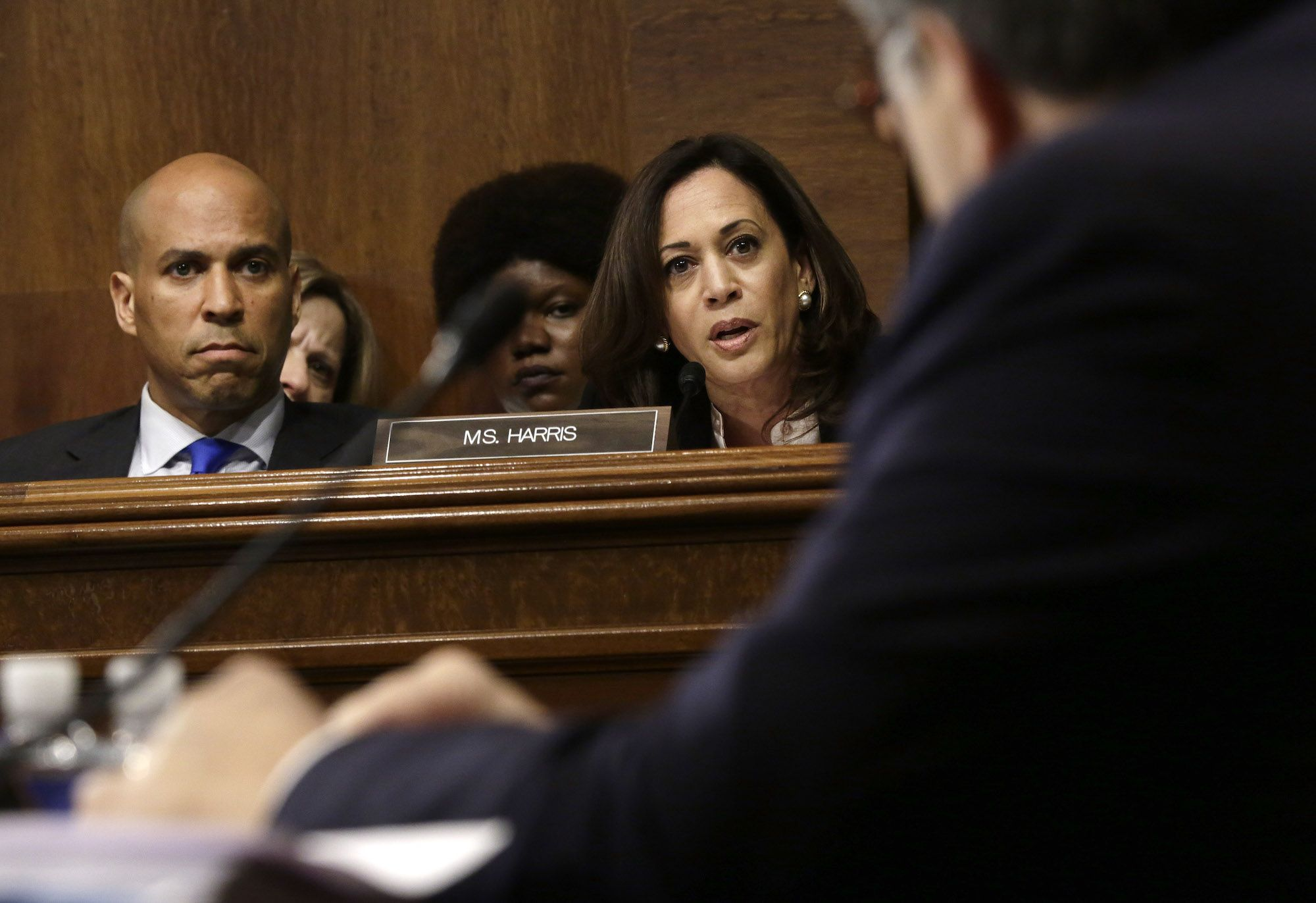 Kamala Harris Cross-Examined William Barr Until He Gave Away the Game on His Obstruction Decision