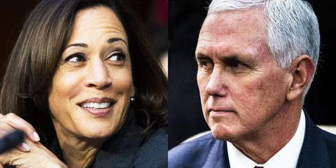 Body Language: Vice Presidential Debate 2020 Pence Harris Harris-pence-1597249530