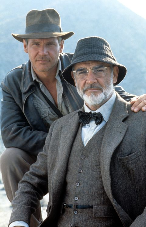 harrison ford y sean connery en 'indiana jones y la última cruzada''