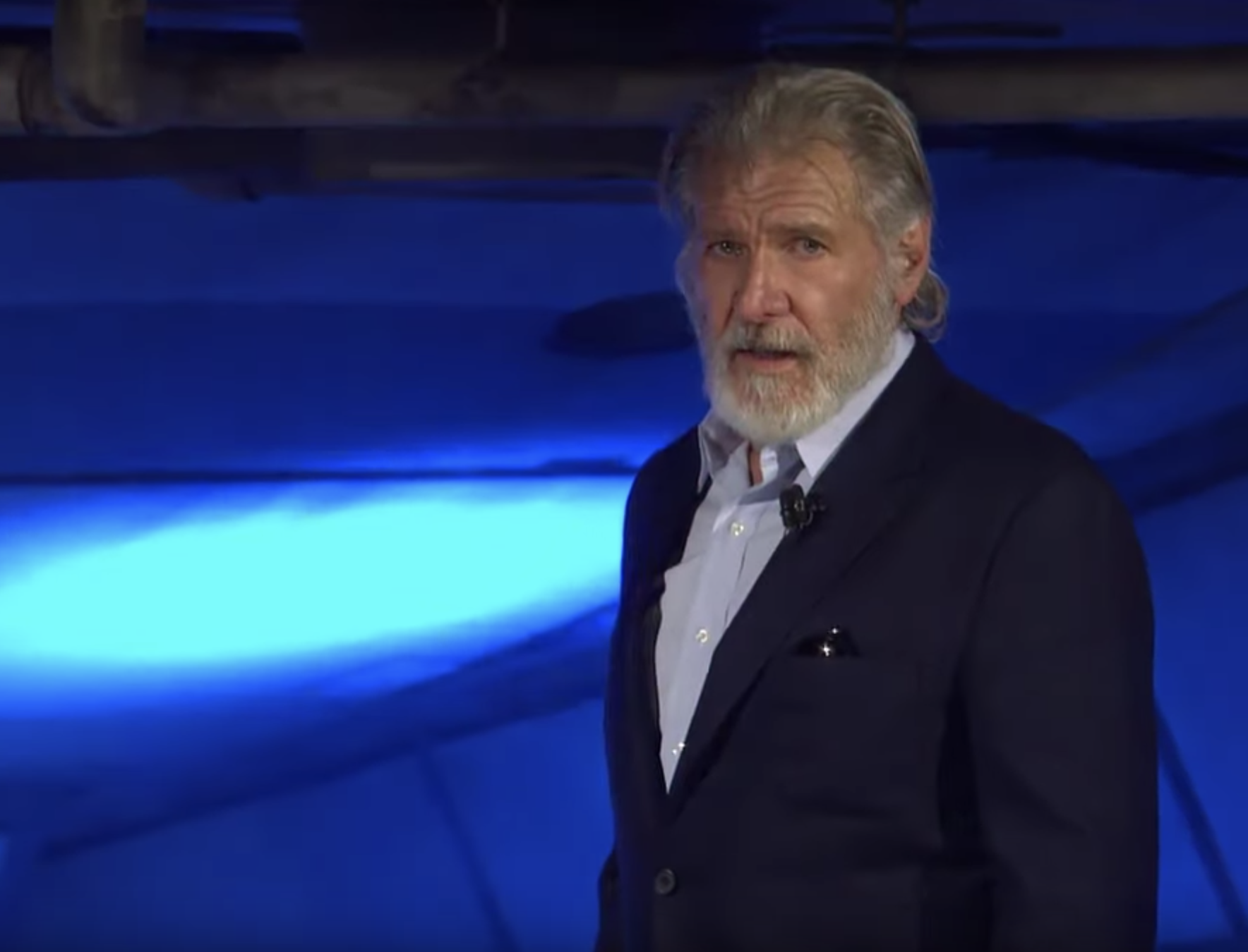 Why is No One Talking About Harrison Ford's Glorious Beard?