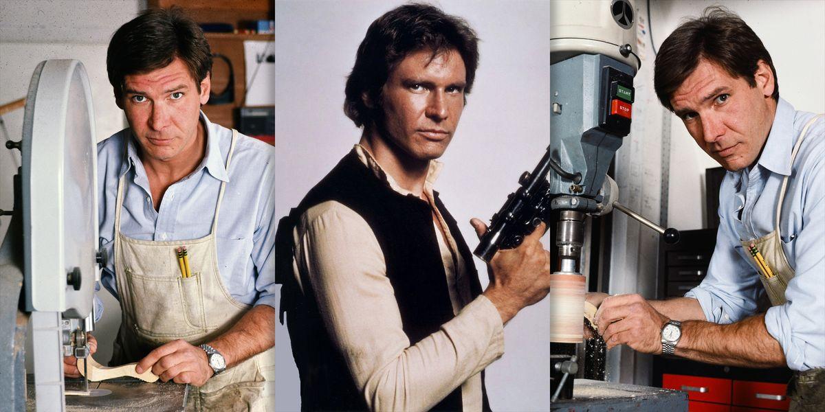 De carpintero a Han Solo: la historia de cómo Harrison Ford llegó a Star Wars