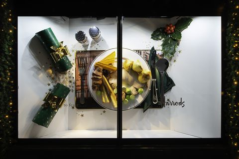 Harrods Christmas windows 2018