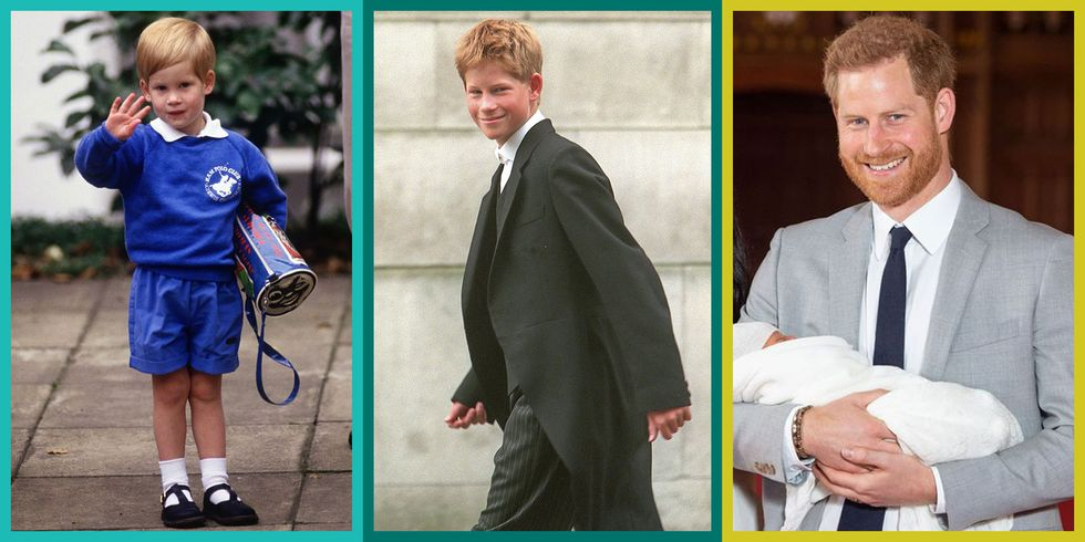 53 Photos of Prince Harry's Royal Transformation