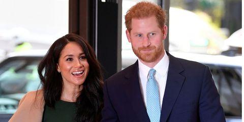 Prins Harry & Meghan Markle