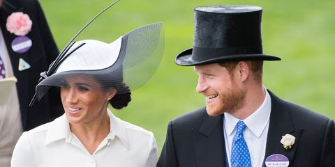 Harry and Meghan Ascot