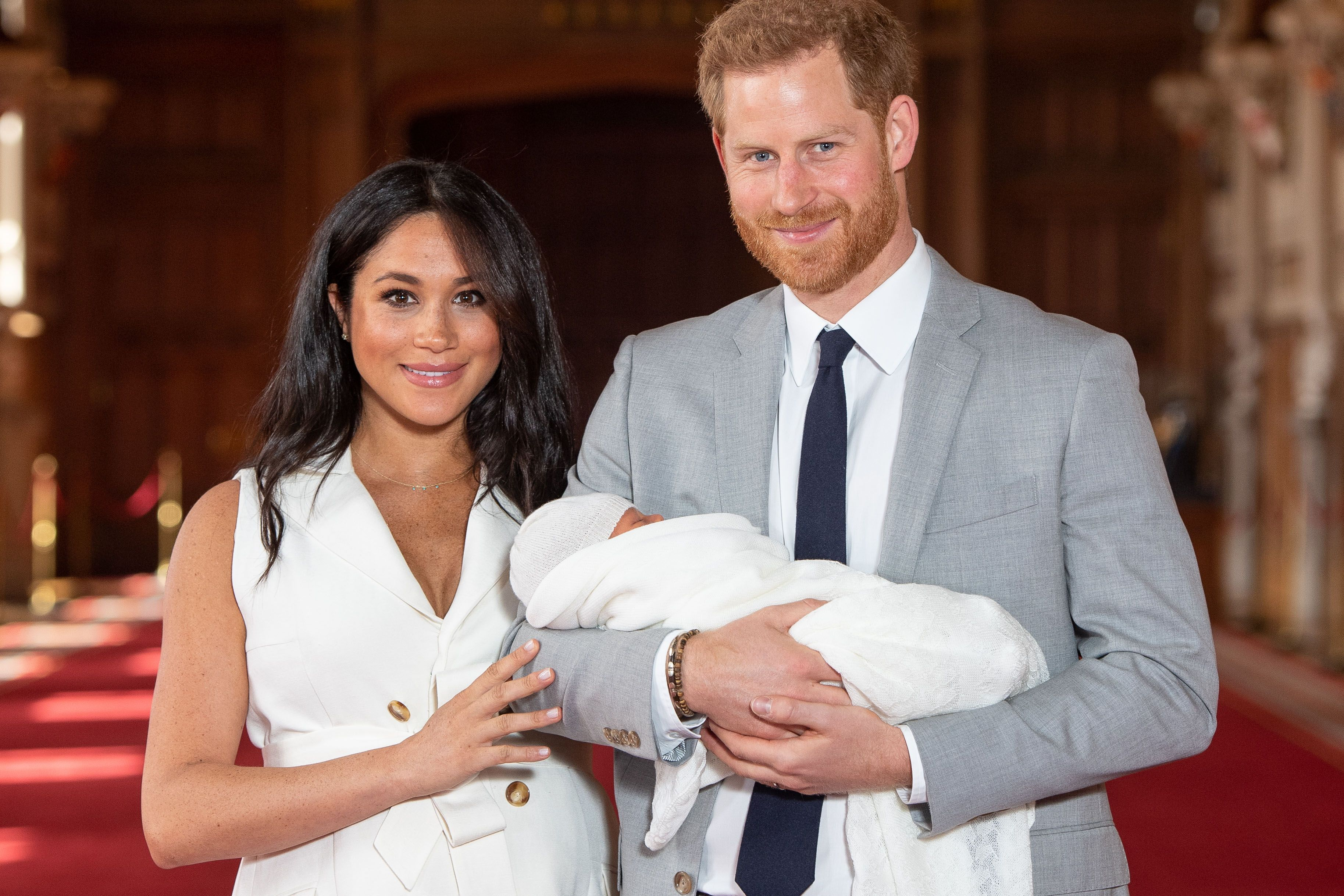 The Duchess of Sussex shares a new photo of baby Archie for Harry's birthday