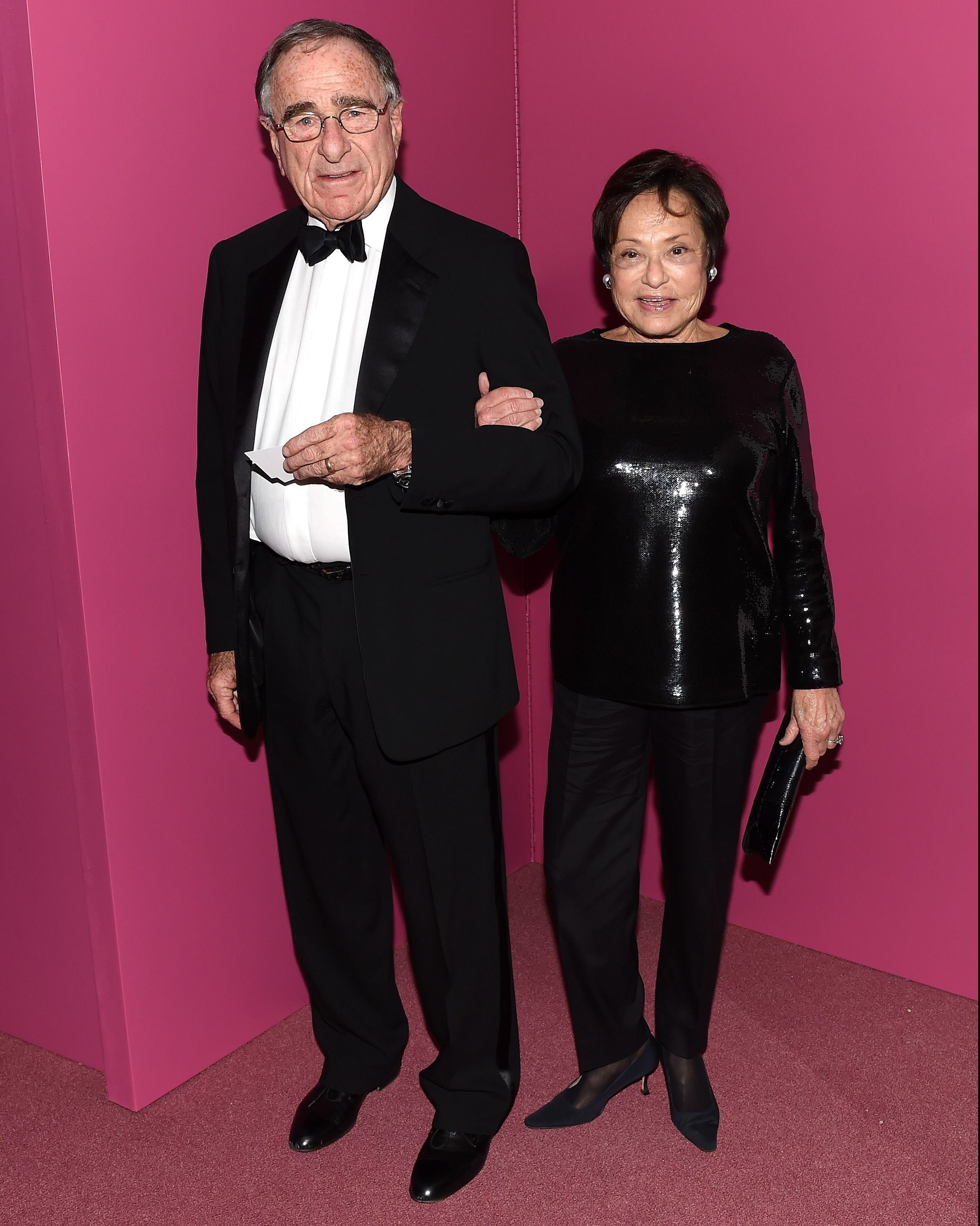 Harry and Linda Macklowe attending the 2015 Guggenheim International Gala Dinner.