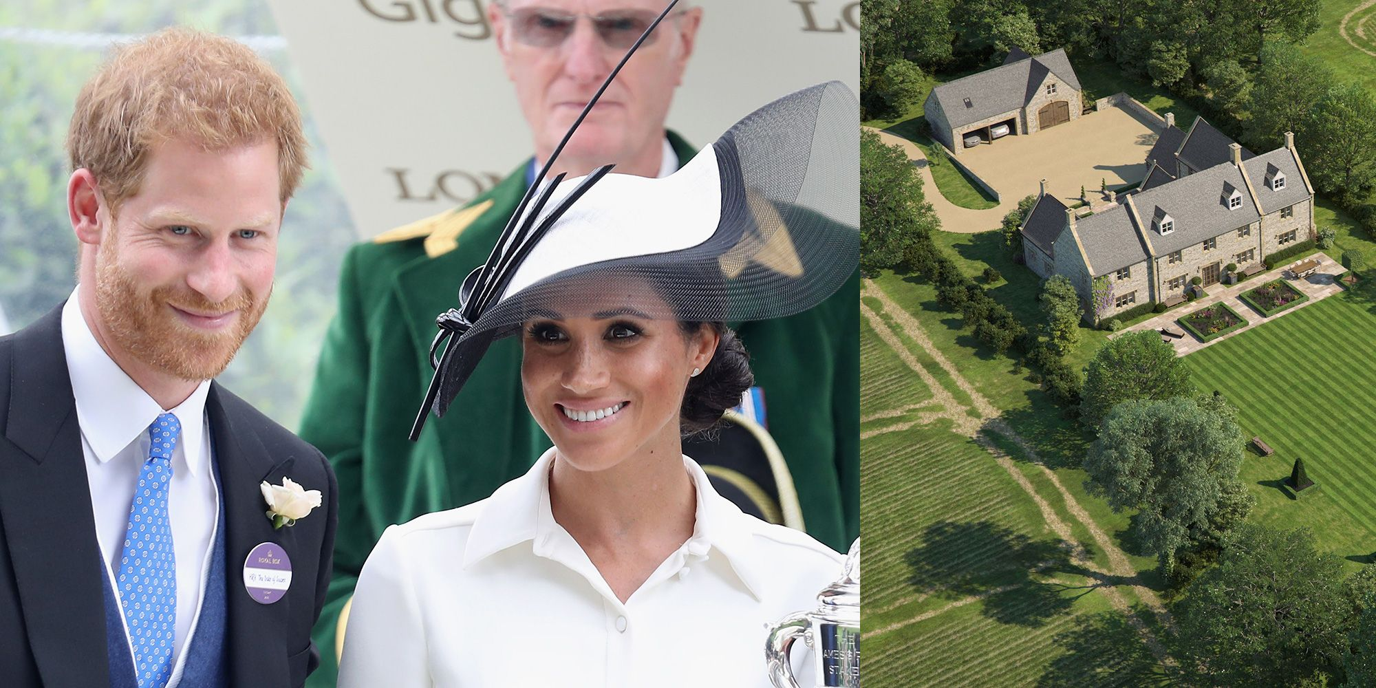 Is this the actual house Harry and Meghan are building in the Cotswolds?