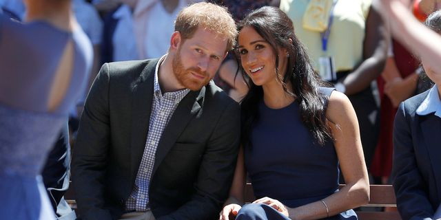 sydney, australia   october 19 prince harry, duke of sussex and meghan, duchess of sussex watch a performance during their visit to macarthur girls high school on october 19, 2018 in sydney, australia the duke and duchess of sussex are on their official 16 day autumn tour visiting cities in australia, fiji, tonga and new zealand photo by phil noble   poolgetty images