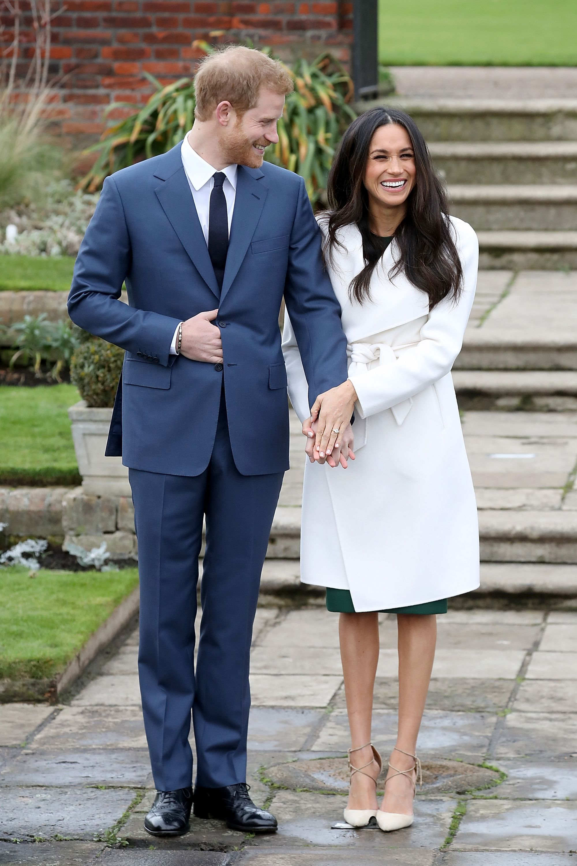 Harry and Meghan engagement photocall